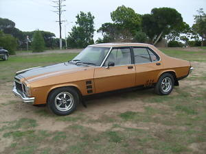 1977 Holden HX Monaro GTS Sedan 4 SP MAN V8