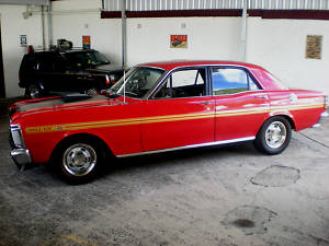1971 Red Ford Falcon XY GT - Replica