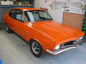 Orange 1972 Holden Torana LJ GTR