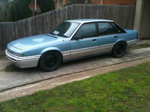 Blue 1988 Holden VL Calais Turbo