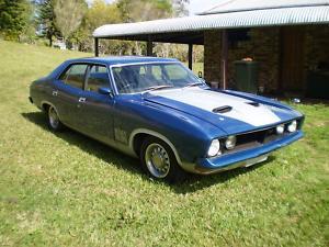 Blue 1973 Ford Fairmont XB GT Replica