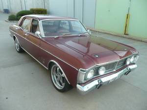 Bronze 1971 Ford XY Fairmont