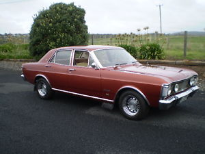 Bronze 1971 Ford Fairmont XY