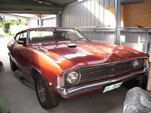 Brown 1973 Ford XA Fairmont