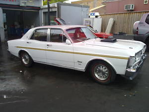 White 1971 Ford Fairmont XY