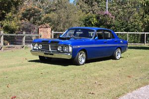 Blue Ford Falcon XY GT REPLICA