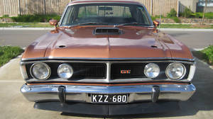 Brown 1971 Ford Falcon XY GT Replica