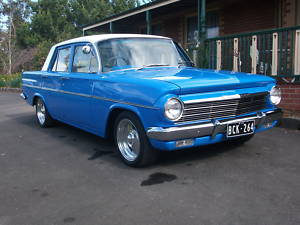 Blue 1964 Holden EH sedan