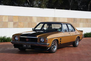Brown Holden Monaro GTS 253 V8