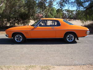 Orange 1971 Holden Monaro HQ GTS Coupe