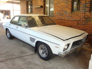 1973 White Holden Monaro GTS