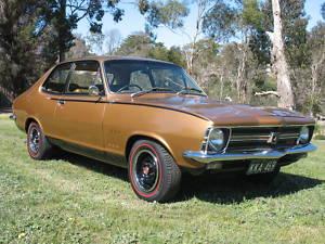 Brown 1971 Holden Torana GTR Easy to XU1