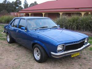 Blue Holden Torana 1974