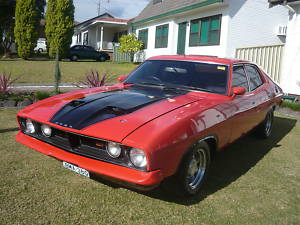 Red 1976 Ford Falcon XB GT Replica