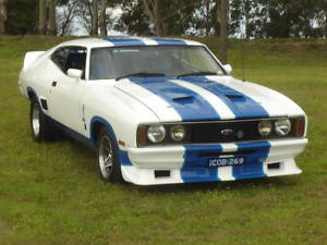White 1977 Ford Falcon XC Coupe