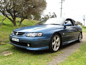Blue 2002 Holden Monaro CV8 Coupe HSV