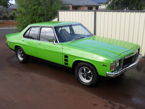 Green 1974 Holden Monaro HJ GTS