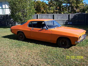 Orange 1972 Holden Monaro V8 Coupe