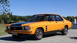 Orange 1977 Holden Monaro HX GTS
