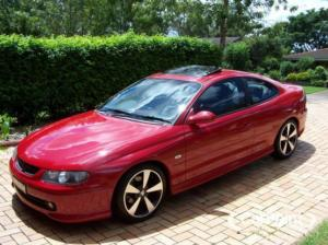 Red 2004 Holden Monaro CV8R 6 Speed Manual