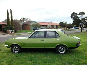 Green 1972 Holden Torana LJ