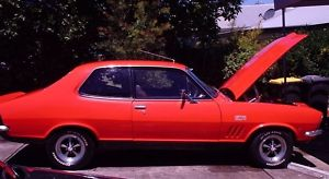 Orange 1972 Holden Torana V8 - XU1