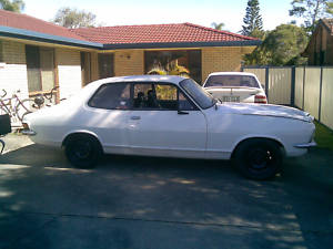 White 1973 Holden Torana LJ