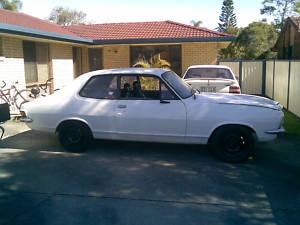 White 1973 Holden Torana LJ