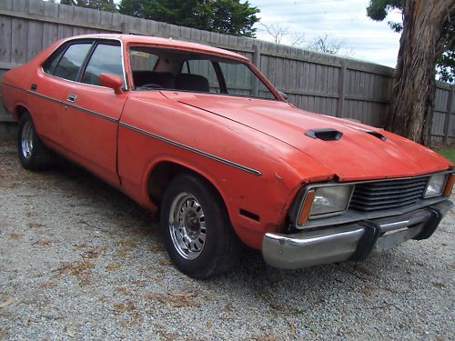 1978 Red Ford Fairmont XC GXL