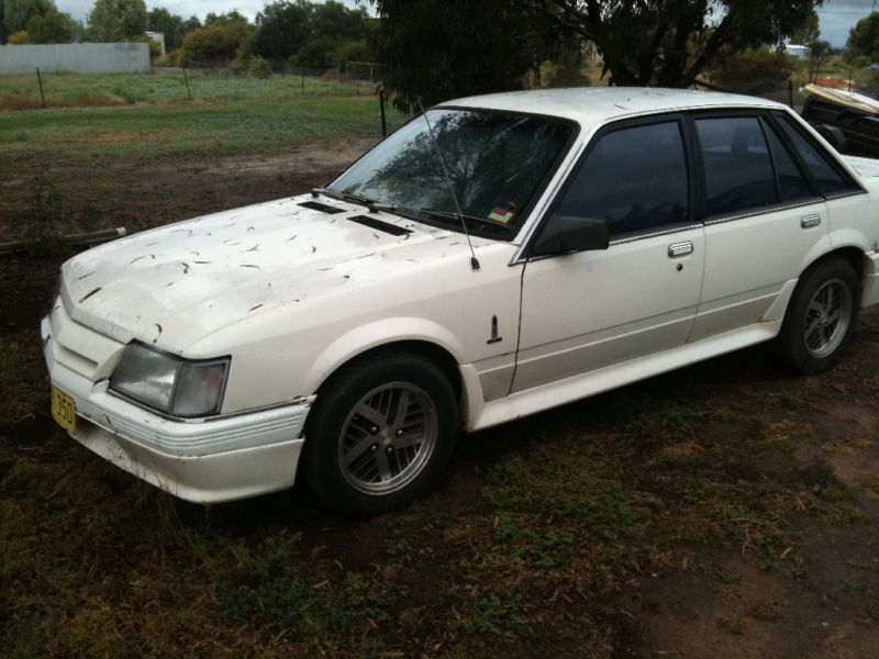 White Holden VK Calais