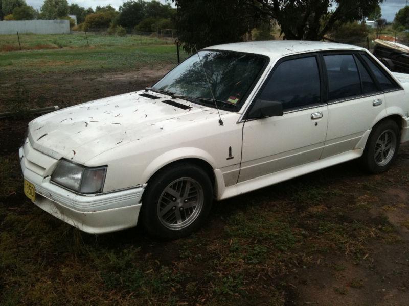 White Holden VK Calais