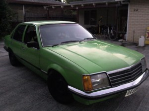 Green 1979 Holden Commodore VB