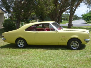 Yellow 1968 Holden Monaro GTS 307 CHEV