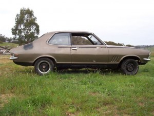 Gold 1970 Holden Torana LC