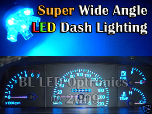 6-LED Blue Dash Kit Commodore